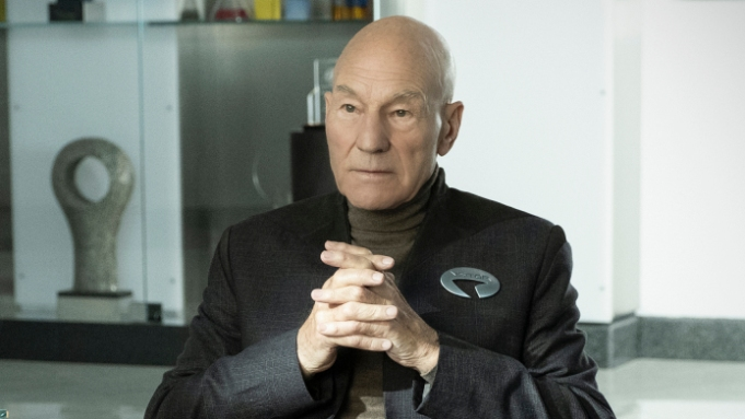 Pictured: Patrick Stewart as Jean-Luc Picard