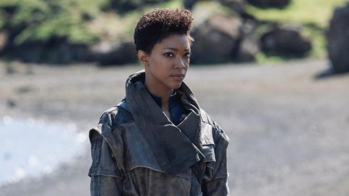 Pictured: Sonequa Martin-Green as Burnham of