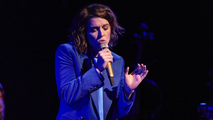 Brandi Carlile Gets Red-Hot and 'Blue'