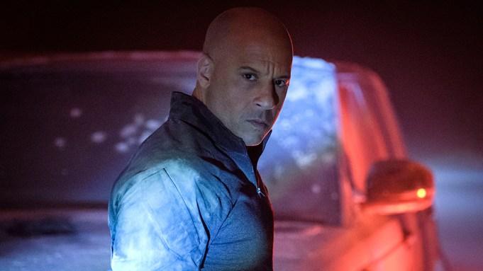 Bloodshot (Vin Diesel) in Columbia Pictures'