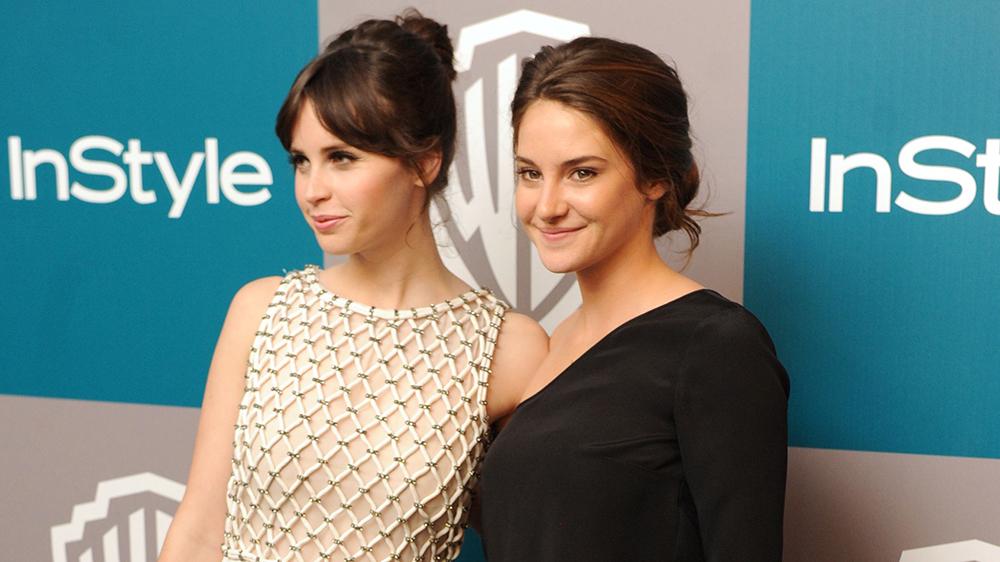 Felicity Jones i Shailene Woodley