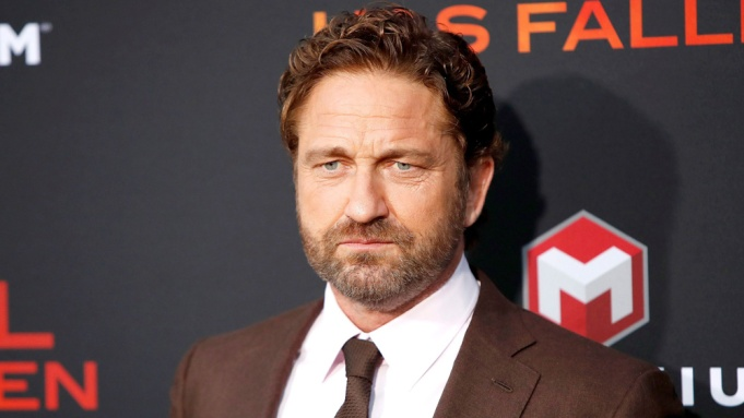 Gerard Butler arrives for the premiere of Lionsgate's 'Angel Has Fallen' at the Regency Village Theater in Los Angeles, California, USA, 20 August 2019. The movie opens in US theaters on 23 August 2019.Premiere of Lionsgate's Angel Has Fallen, Los Angeles, USA - 20 Aug 2019