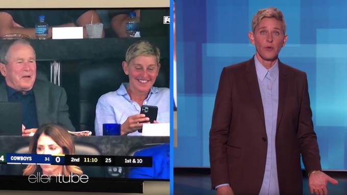 Ellen DeGeneres George W. Bush