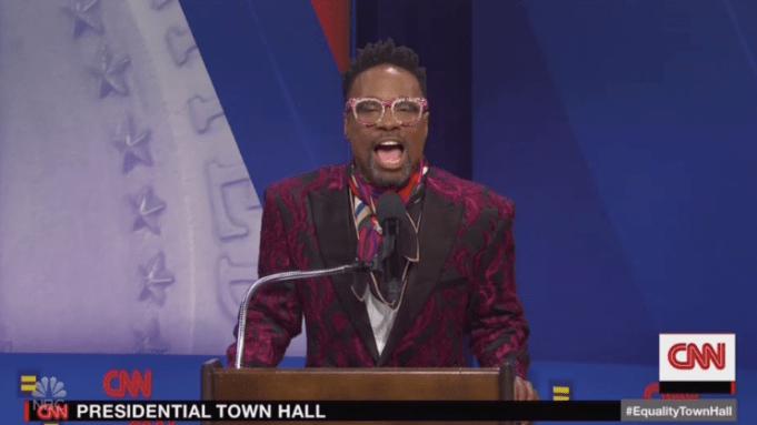 'SNL': Billy Porter Emcees Democratic LGBTQ