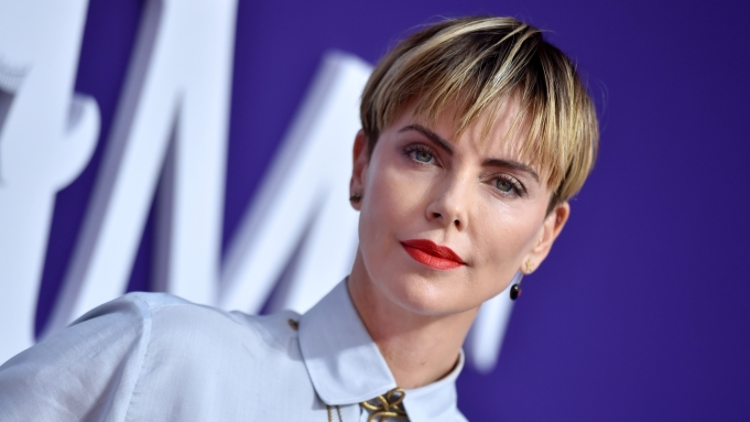 Charlize Theron'The Addams Family' film premiere,
