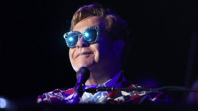 Sir Elton John performs at Paramount
