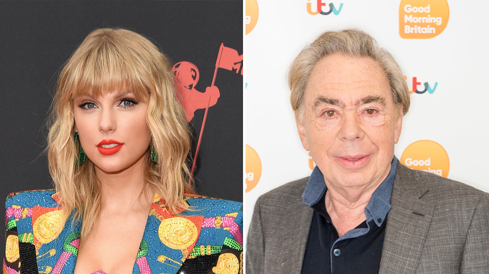 Taylor Swift Andrew Lloyd Webber Have Co Written A New Cats Song Variety