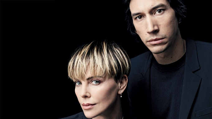Adam Driver and Charlize Theron Actors