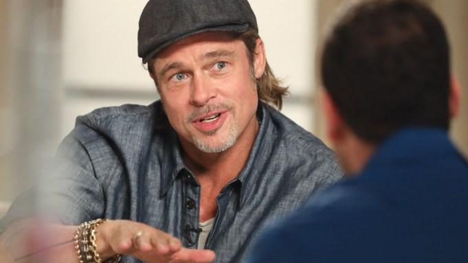 Brad Pitt on Quentin Tarantino Actors