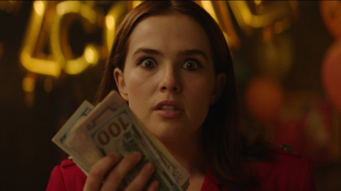 Zoey Deutch Comedy 'Buffaloed' Forgives $1.5