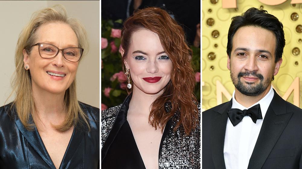 Meryl Streep, Lin-Manuel Miranda, Emma Stone to Host 2020 Met Gala