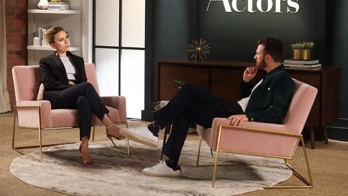 Scarlett Johansson Chris Evans AoA