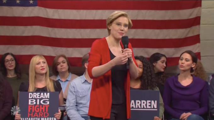 'SNL': Elizabeth Warren's 'Medicare for All'
