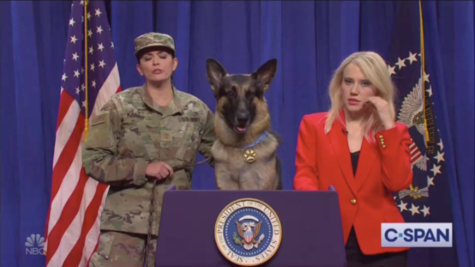 'SNL' Gives Military Dog Conan a