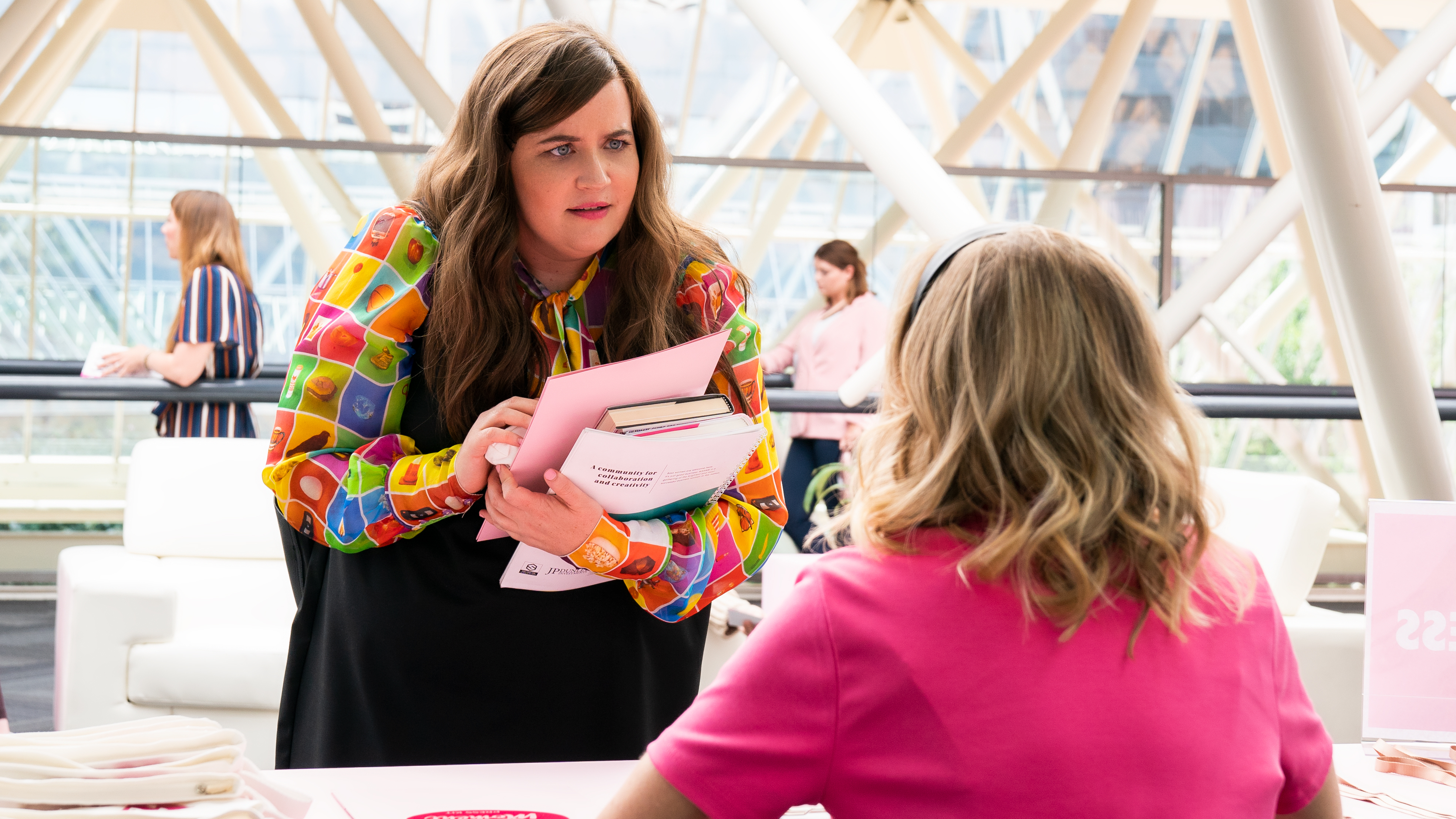 "SHRILL -- "" "" - Episode 206 - Annie (Aidy Bryant), shown. (Photo by: Allyson Riggs/Hulu)"