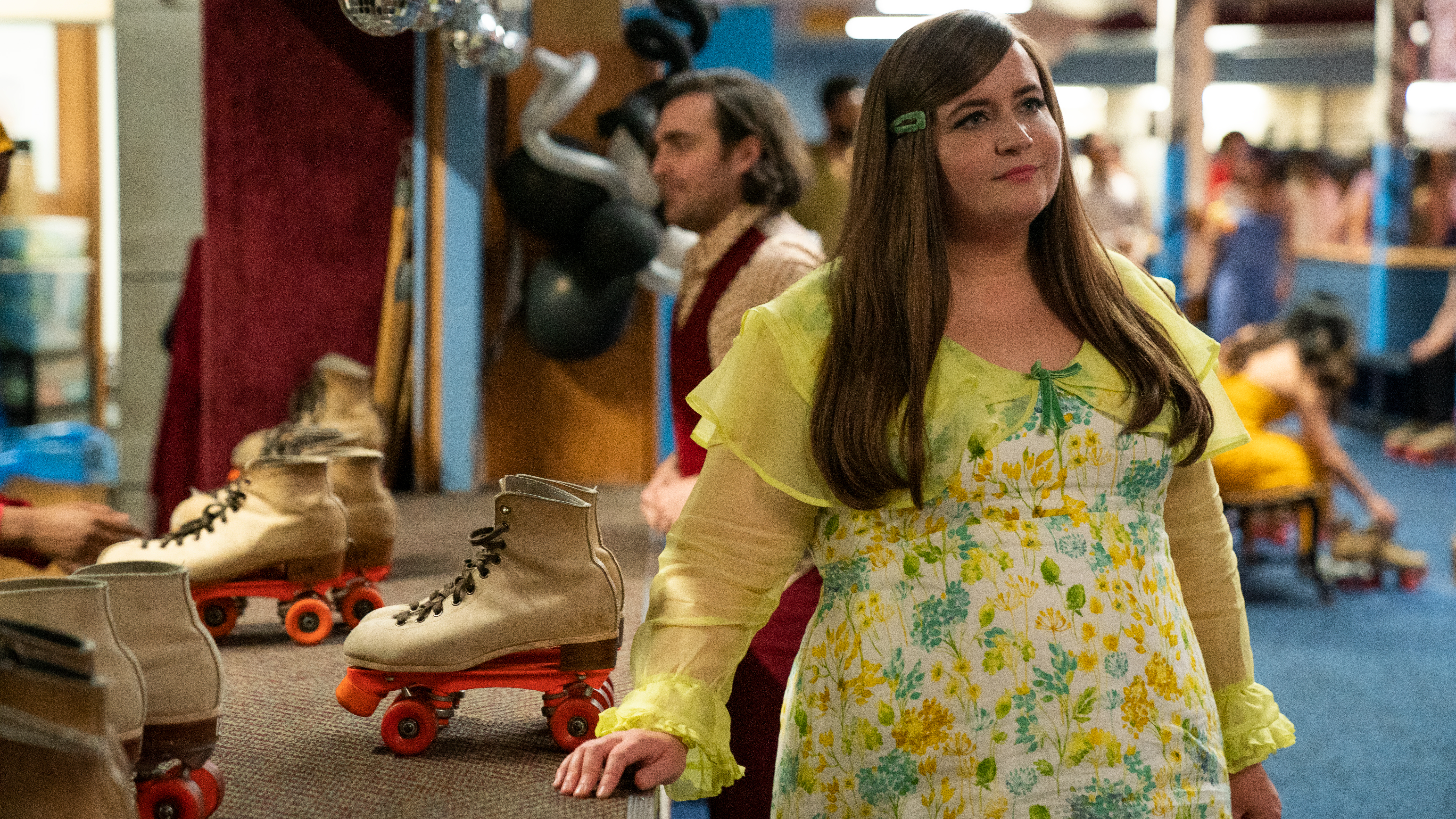 "SHRILL -- "" "" - Episode 203 - Annie (Aidy Bryant), shown. (Photo by: Allyson Riggs/Hulu)"