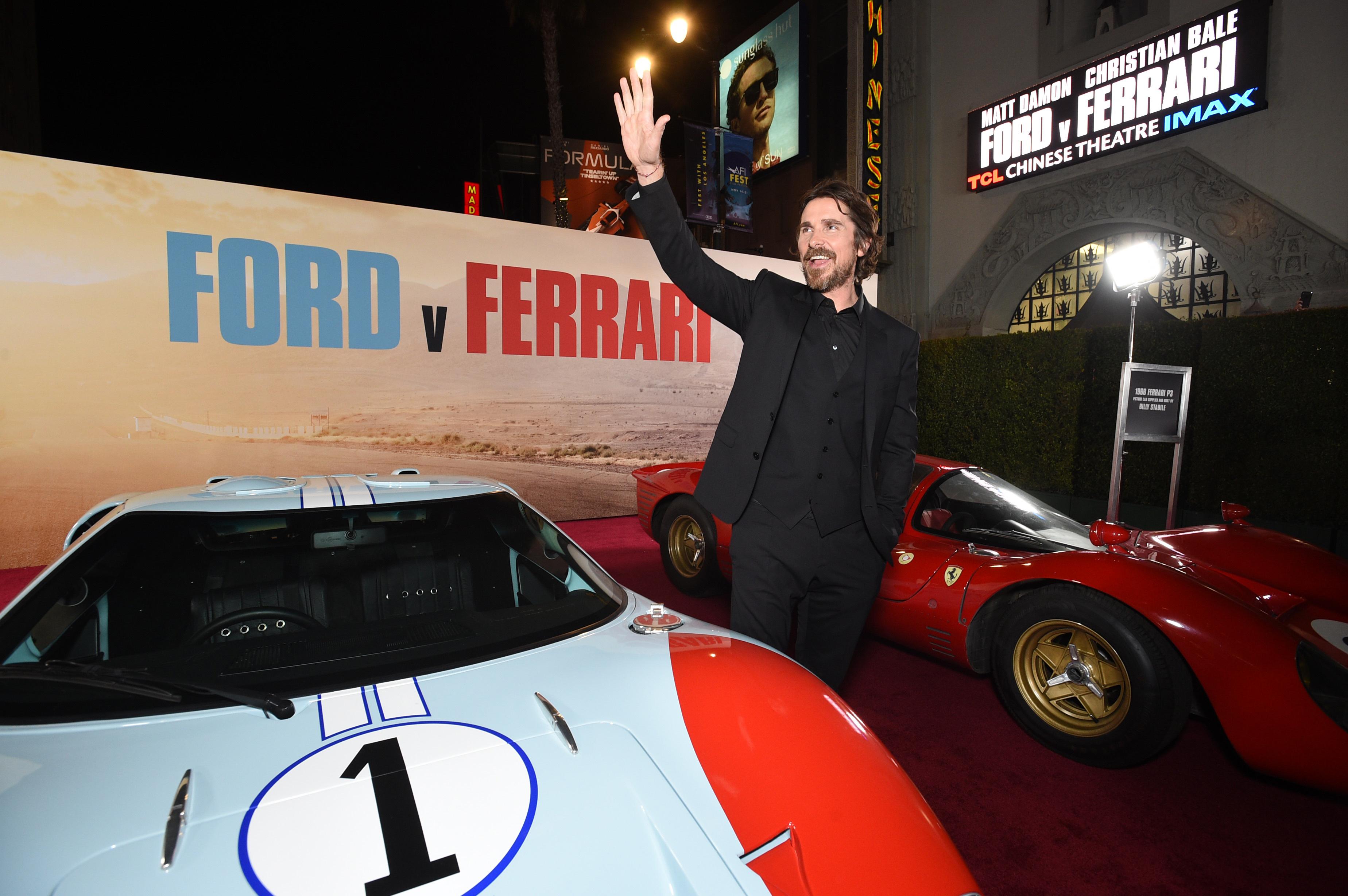 Christian Bale Matt Damon Talk Transforming For Ford V Ferrari Variety