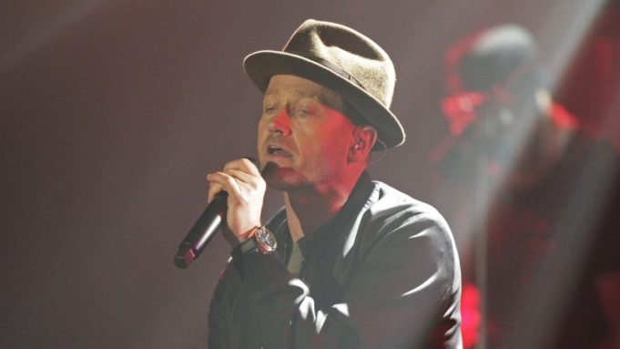 Toby Mac performs at the 47th