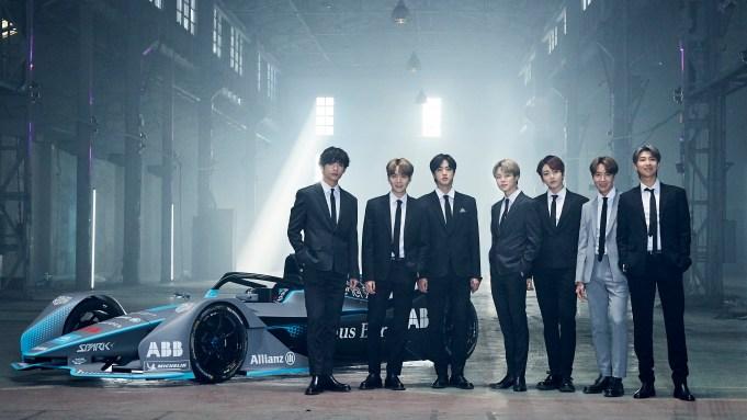 BTS Team With Formula E to