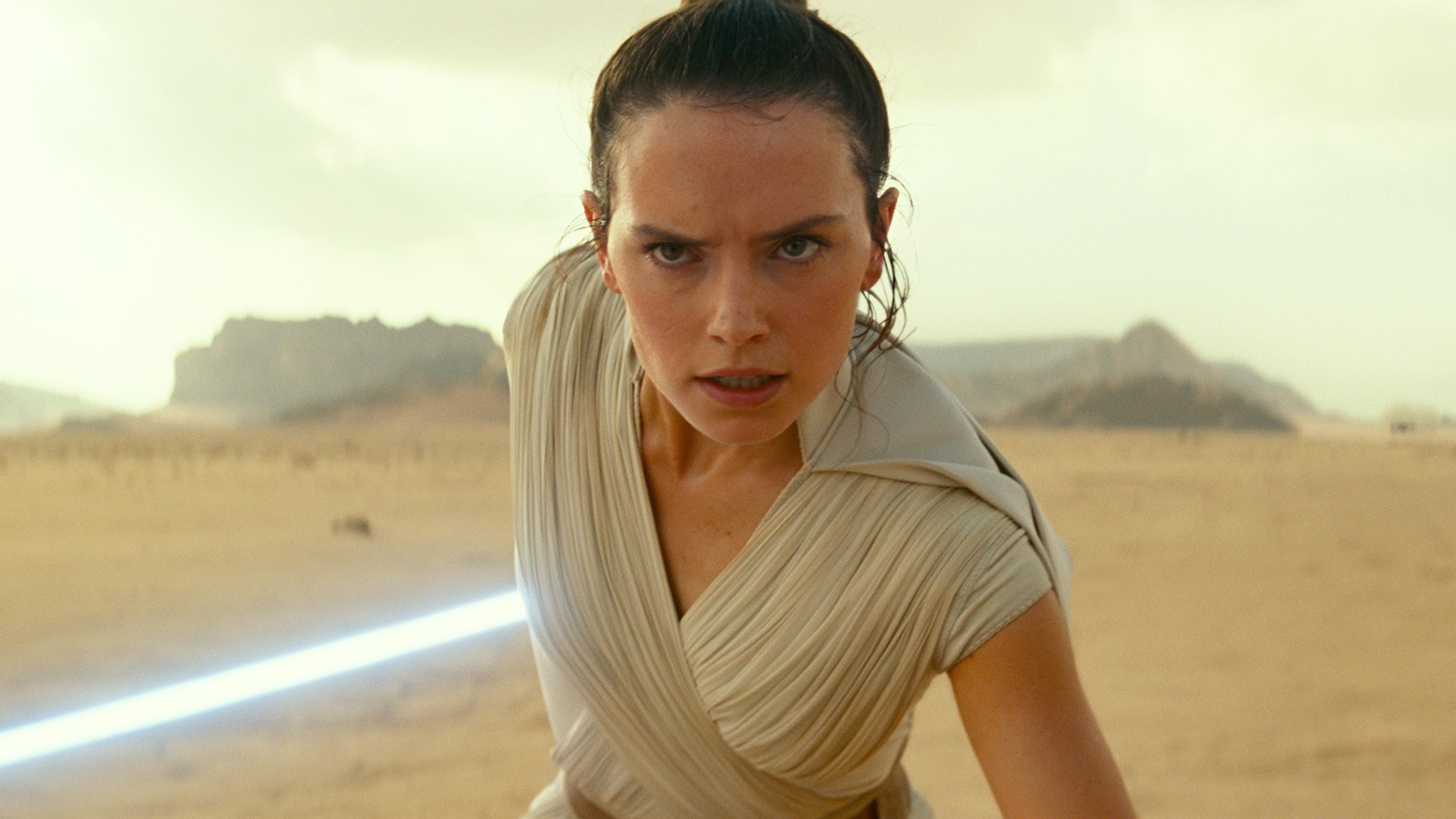 "A Rey definitely saying ""No""."