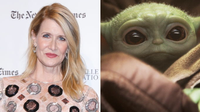 Laura Dern Baby Yoda