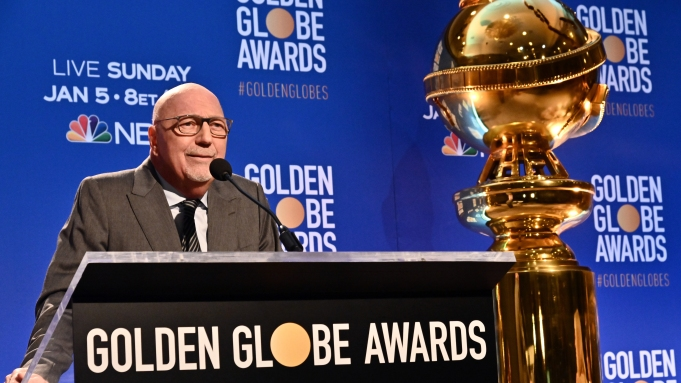 Lorenzo Soria77th Annual Golden Globes Nominations,
