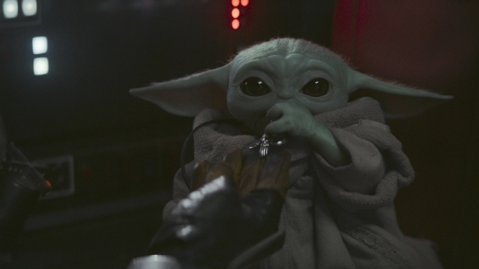 Baby Yoda Mandalorian Finale