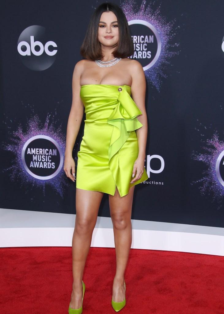Selena Gomez 47th Annual American Music Awards, Arrivals, Microsoft Theater, Los Angeles, USA - 24 Nov 2019