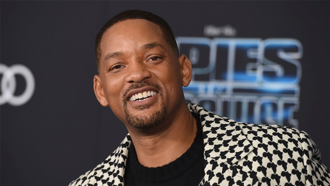 Will Smith arrives at the world