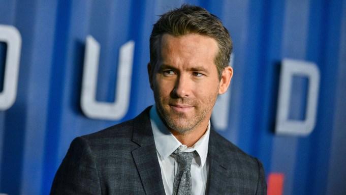 Ryan Reynolds'6 Underground' film premiere, Arrivals,