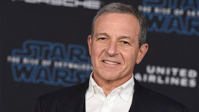 Disney CEO Robert Iger arrives at