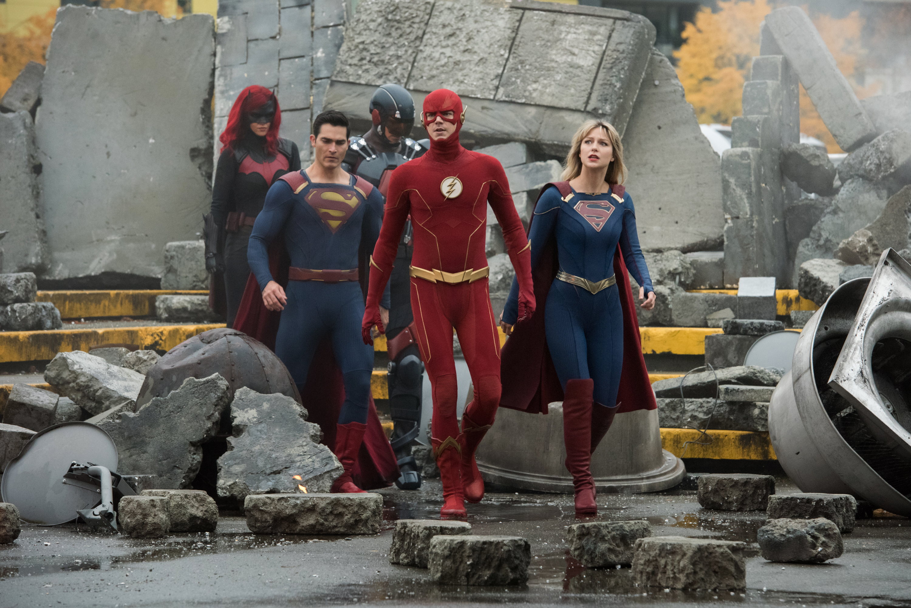 Arrowverse Boss Breaks Down Journey To Crisis On Infinite Earths Variety