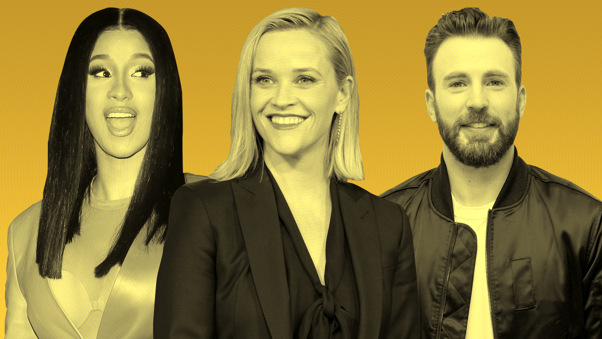 TV Star Salaries Revealed: Reese Witherspoon, Chris Evans, Cardi B and the $1 Million Club