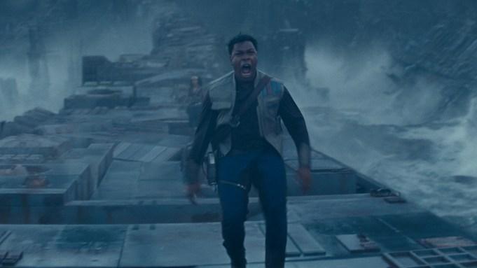 John Boyega is Finn in STAR
