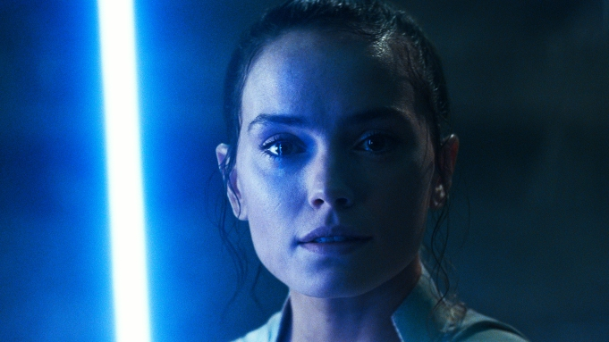 Daisy Ridley is Rey in STAR