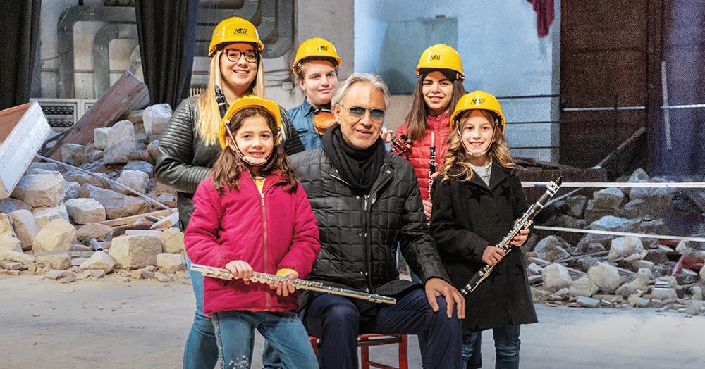 The Andrea Bocelli Foundation