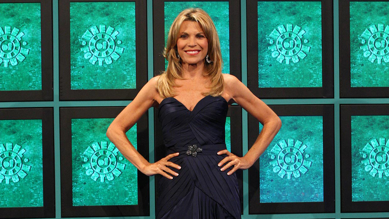 Vanna White Hosts Wheel Of Fortune For First Time Variety