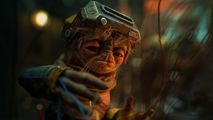 Babu Frik Star Wars The Rise