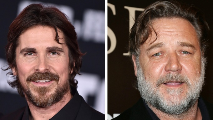 Christian Bale Russell Crowe Golden Globes