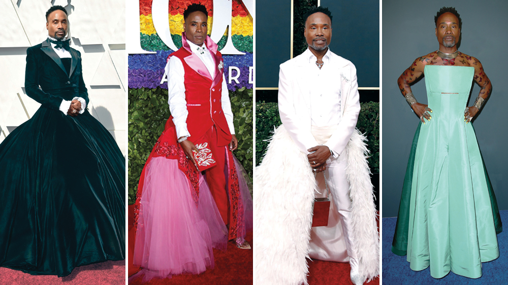 Billy Porter's Red Carpet Style Breaks Barriers - Variety