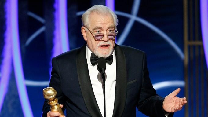 Brian Cox Golden Globes