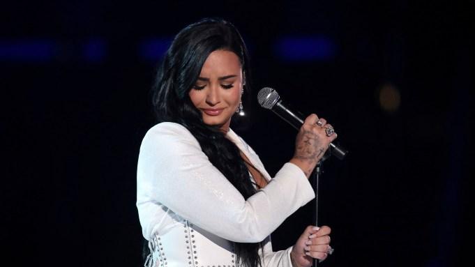 Demi Lovato Grammy performance