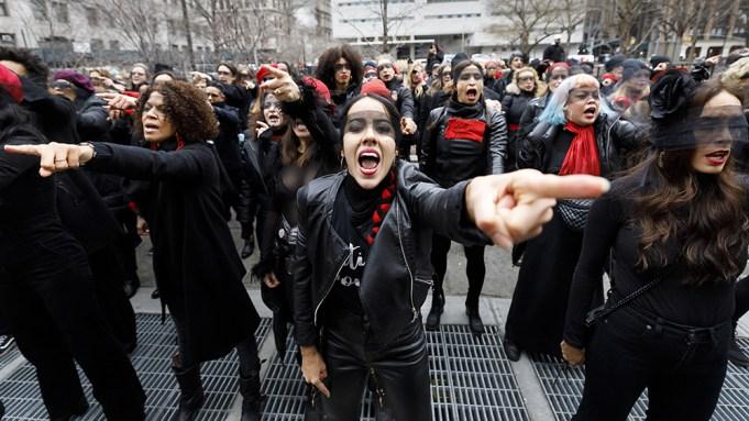 Harvey Weinstein protest