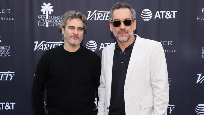 Joaquin Phoenix and Todd PhillipsVariety's Creative