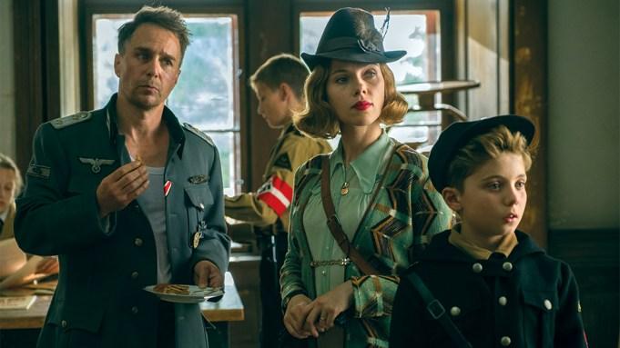 (From L-R): Sam Rockwell, Scarlett Johansson