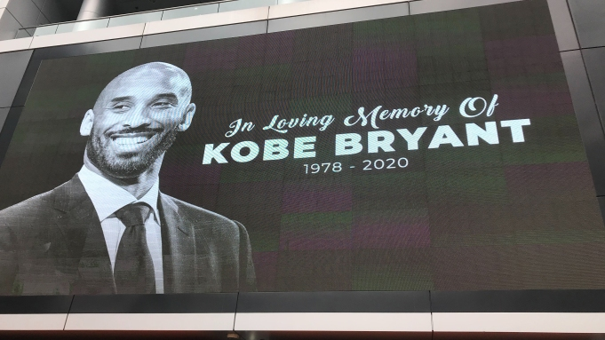 Kobe Bryant Staples Center memorial