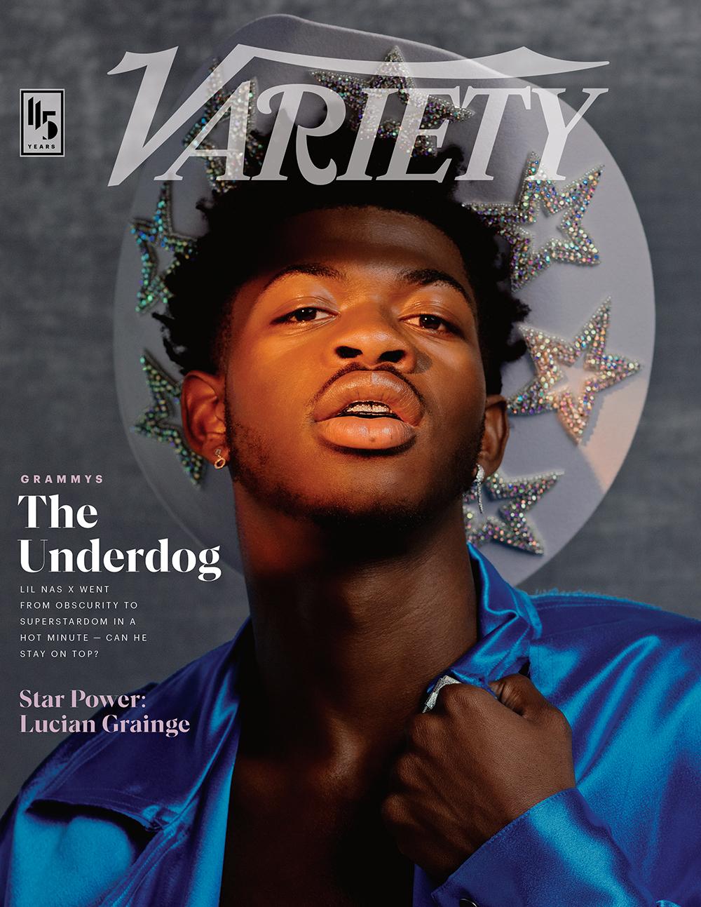 Lil Nas X Variety Cover