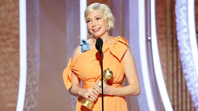 Michelle Williams Golden Globe Win