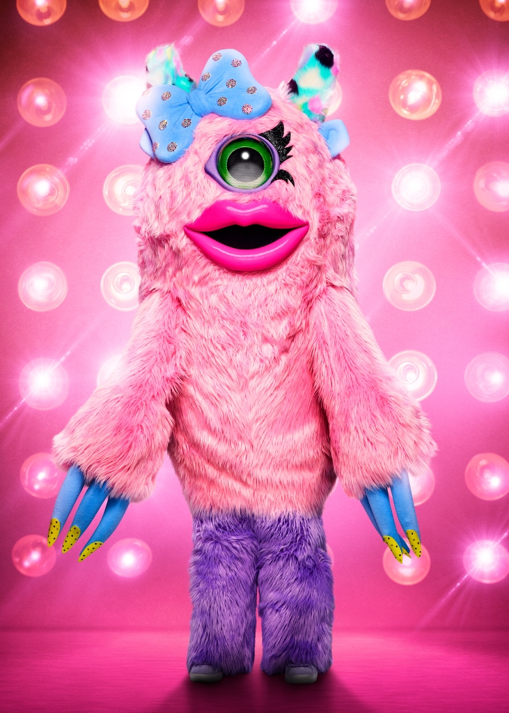 THE MASKED SINGER: Miss Monster. CR: Michael Becker / FOX. © 2020 FOX MEDIA LLC.