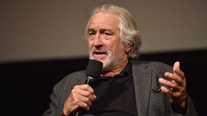 Robert De Niro'The Irishman' Variety Film